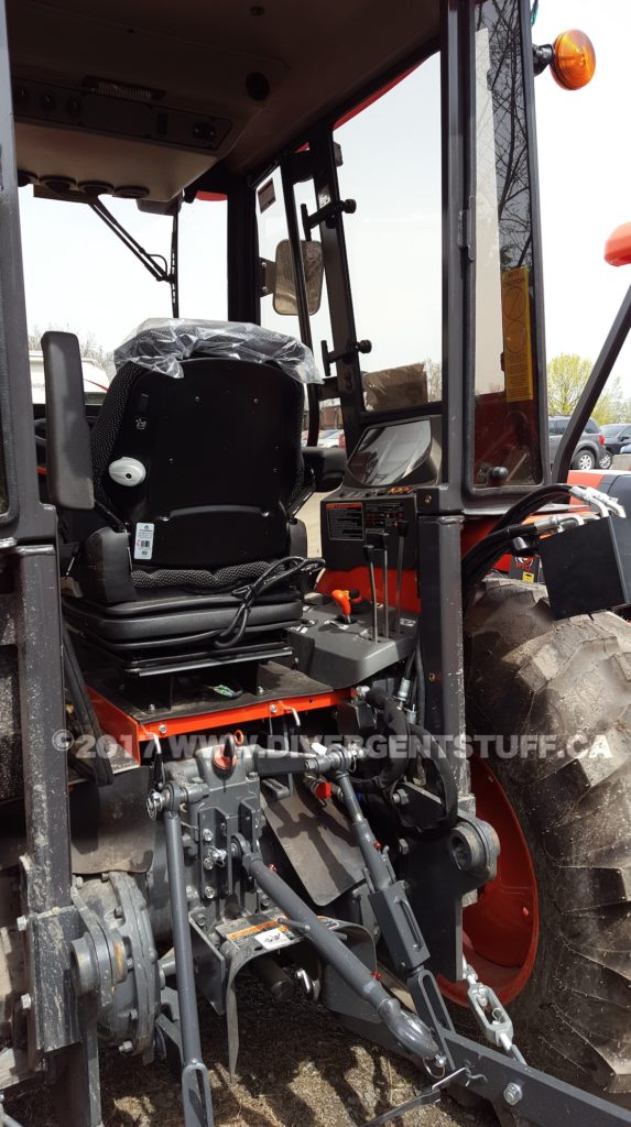 Laurin Eclipse Cab install for my Kubota M59 – Divergent Stuff