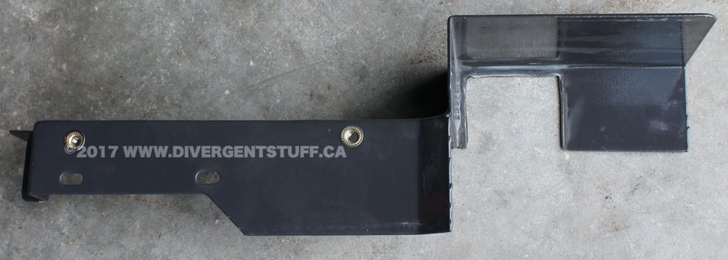 Here is the hydraulic Remotes Cover plate after being cut